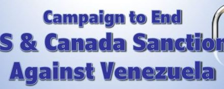 Endorse Today! Help end illegal sanctions against Venezuela