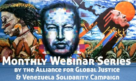 Alliance for Global Justice Presents the next Venezuela Webinar: Examining the effect of sanctions on human rights in Venezuela with SURES