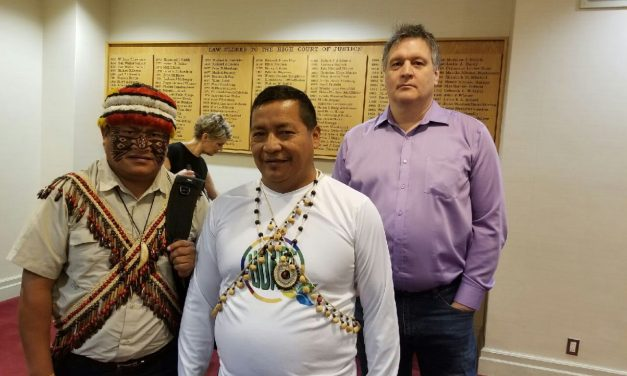Indigenous Leaders From Ecuador United To Confront Oil Giant Chevron In Ontario Court