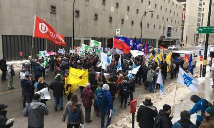 Public Rally – NAFTA Negotiations in Montreal