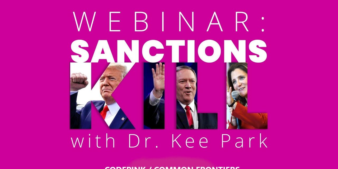 Sanctions 101 with Dr. Kee Park