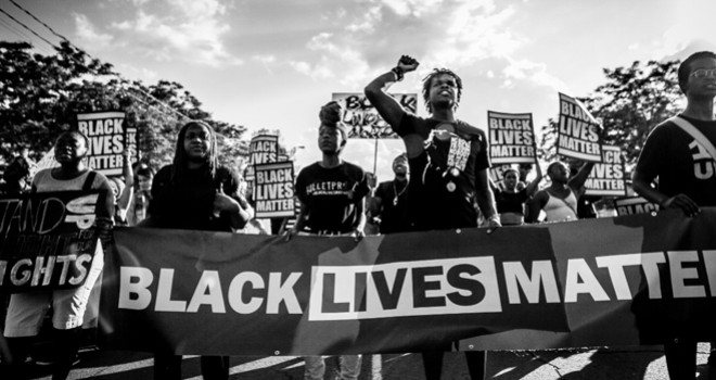 Solidarity with protests demanding an end to Anti Black racism and systemic, police violence
