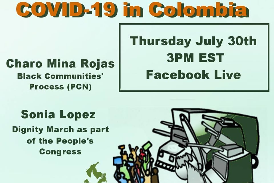 Militarization and COVID-19 in Colombia