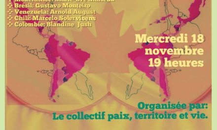 Conversation : Le rôle du Canada dans les crises en Amérique Latine