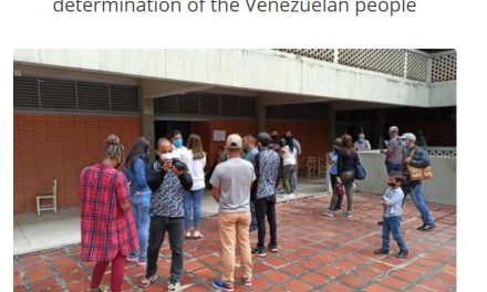 Ecumenical Team Accompanies Venezuelan Legislative Elections